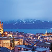 Lausanne-View-by-night-copyright-diapo-ch