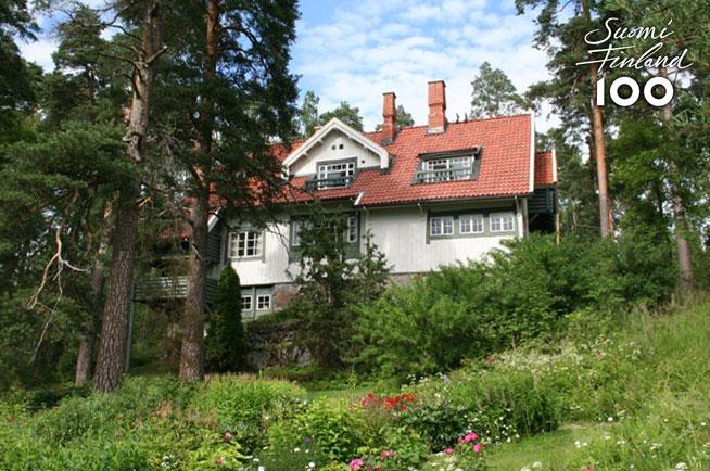 Sibelius at Ainola